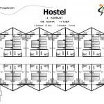 Hosteli plaan
